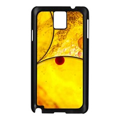 Abstract Water Oil Macro Samsung Galaxy Note 3 N9005 Case (black)