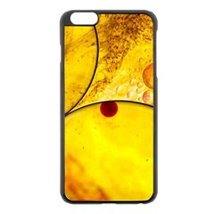 Abstract Water Oil Macro Apple Iphone 6 Plus/6s Plus Black Enamel Case by Nexatart