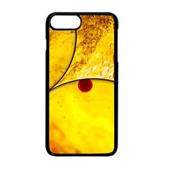 Abstract Water Oil Macro Apple Iphone 8 Plus Seamless Case (black)