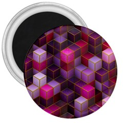 Cube Surface Texture Background 3  Magnets