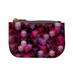 Cube Surface Texture Background Mini Coin Purses