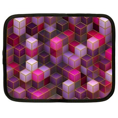 Cube Surface Texture Background Netbook Case (xl)