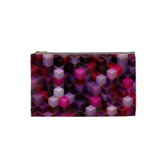Cube Surface Texture Background Cosmetic Bag (small)