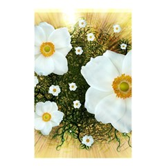 Summer Anemone Sylvestris Shower Curtain 48  X 72  (small)