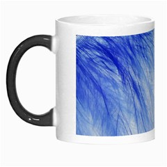 Feather Blue Colored Morph Mugs