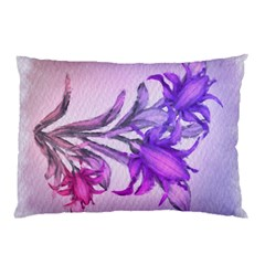 Flowers Flower Purple Flower Pillow Case (two Sides)