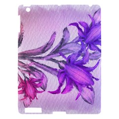 Flowers Flower Purple Flower Apple Ipad 3/4 Hardshell Case by Nexatart