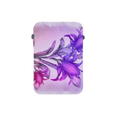Flowers Flower Purple Flower Apple Ipad Mini Protective Soft Cases by Nexatart