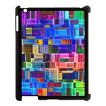 Background Art Abstract Watercolor Apple iPad 3/4 Case (Black) Front