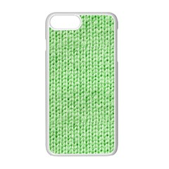 Knittedwoolcolour2 Apple Iphone 7 Plus Seamless Case (white) by snowwhitegirl