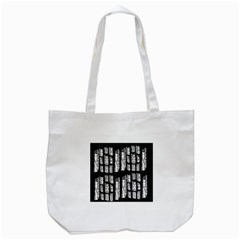 Numbers Cards 7898 Tote Bag (white) by MRTACPANS