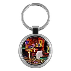 Home Sweet Home Key Chains (round)