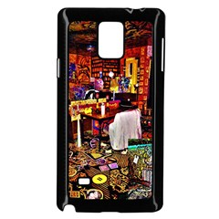 Home Sweet Home Samsung Galaxy Note 4 Case (black) by MRTACPANS