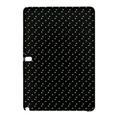 Pink Flowers On Black Samsung Galaxy Tab Pro 12 2 Hardshell Case