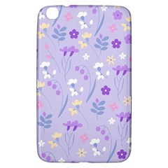 Violet,lavender,cute,floral,pink,purple,pattern,girly,modern,trendy Samsung Galaxy Tab 3 (8 ) T3100 Hardshell Case  by 8fugoso