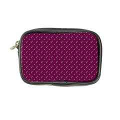Pink Flowers Magenta Coin Purse by snowwhitegirl