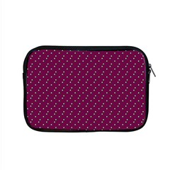 Pink Flowers Magenta Apple Macbook Pro 15  Zipper Case by snowwhitegirl