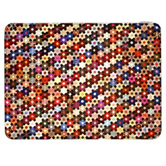 Mosaic Pattern Quilt Pattern Samsung Galaxy Tab 7  P1000 Flip Case by paulaoliveiradesign