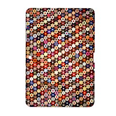 Mosaic Pattern Quilt Pattern Samsung Galaxy Tab 2 (10 1 ) P5100 Hardshell Case  by paulaoliveiradesign
