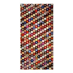 Mosaic Pattern Quilt Pattern Shower Curtain 36  X 72  (stall) by paulaoliveiradesign