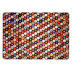 Mosaic Pattern Quilt Pattern Samsung Galaxy Tab 10 1  P7500 Flip Case by paulaoliveiradesign