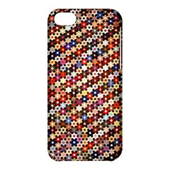 Mosaic Pattern Quilt Pattern Apple Iphone 5c Hardshell Case by paulaoliveiradesign