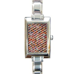 Tp588 Rectangle Italian Charm Watch by paulaoliveiradesign