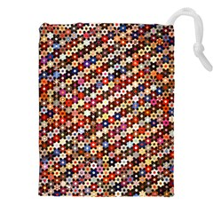 Tp588 Drawstring Pouches (xxl) by paulaoliveiradesign