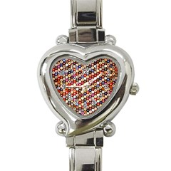 Tp588 Heart Italian Charm Watch by paulaoliveiradesign