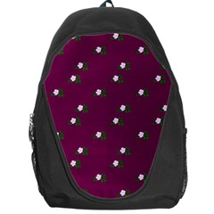Pink Flowers Magenta Big Backpack Bag by snowwhitegirl