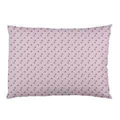 Pink Flowers Pink Pillow Case by snowwhitegirl
