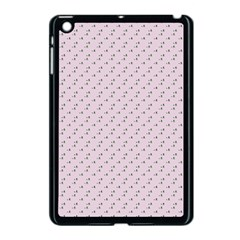 Pink Flowers Pink Apple Ipad Mini Case (black) by snowwhitegirl