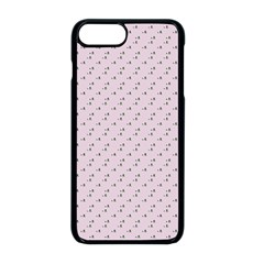 Pink Flowers Pink Apple Iphone 8 Plus Seamless Case (black) by snowwhitegirl