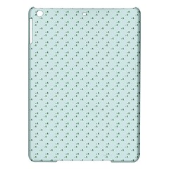 Pink Flowers Blue Ipad Air Hardshell Cases by snowwhitegirl