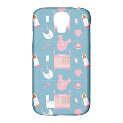 Baby Pattern Samsung Galaxy S4 Classic Hardshell Case (pc+silicone) by snowwhitegirl
