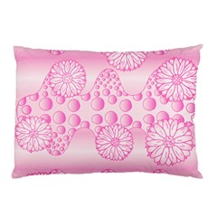 Amoebaflowerspink Pillow Case