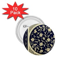 Background Vintage Japanese 1 75  Buttons (10 Pack)