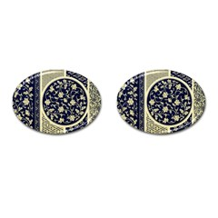Background Vintage Japanese Cufflinks (oval) by Nexatart