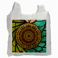 Kaleidoscope Dream Illusion Recycle Bag (one Side)