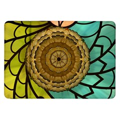 Kaleidoscope Dream Illusion Samsung Galaxy Tab 8 9  P7300 Flip Case by Nexatart
