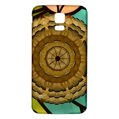 Kaleidoscope Dream Illusion Samsung Galaxy S5 Back Case (white)