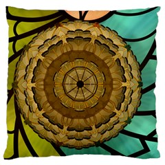 Kaleidoscope Dream Illusion Large Flano Cushion Case (one Side)
