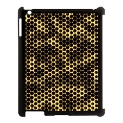 Honeycomb Beehive Nature Apple Ipad 3/4 Case (black) by Nexatart