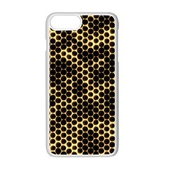 Honeycomb Beehive Nature Apple Iphone 7 Plus Seamless Case (white)