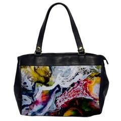 Abstract Art Detail Painting Office Handbags