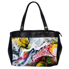 Abstract Art Detail Painting Office Handbags (2 Sides)