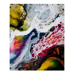 Abstract Art Detail Painting Shower Curtain 60  X 72  (medium)  by Nexatart