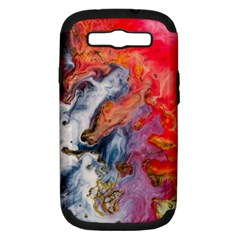 Art Abstract Macro Samsung Galaxy S Iii Hardshell Case (pc+silicone) by Nexatart