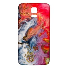 Art Abstract Macro Samsung Galaxy S5 Back Case (white) by Nexatart