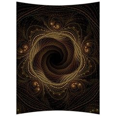 Beads Fractal Abstract Pattern Back Support Cushion by Nexatart